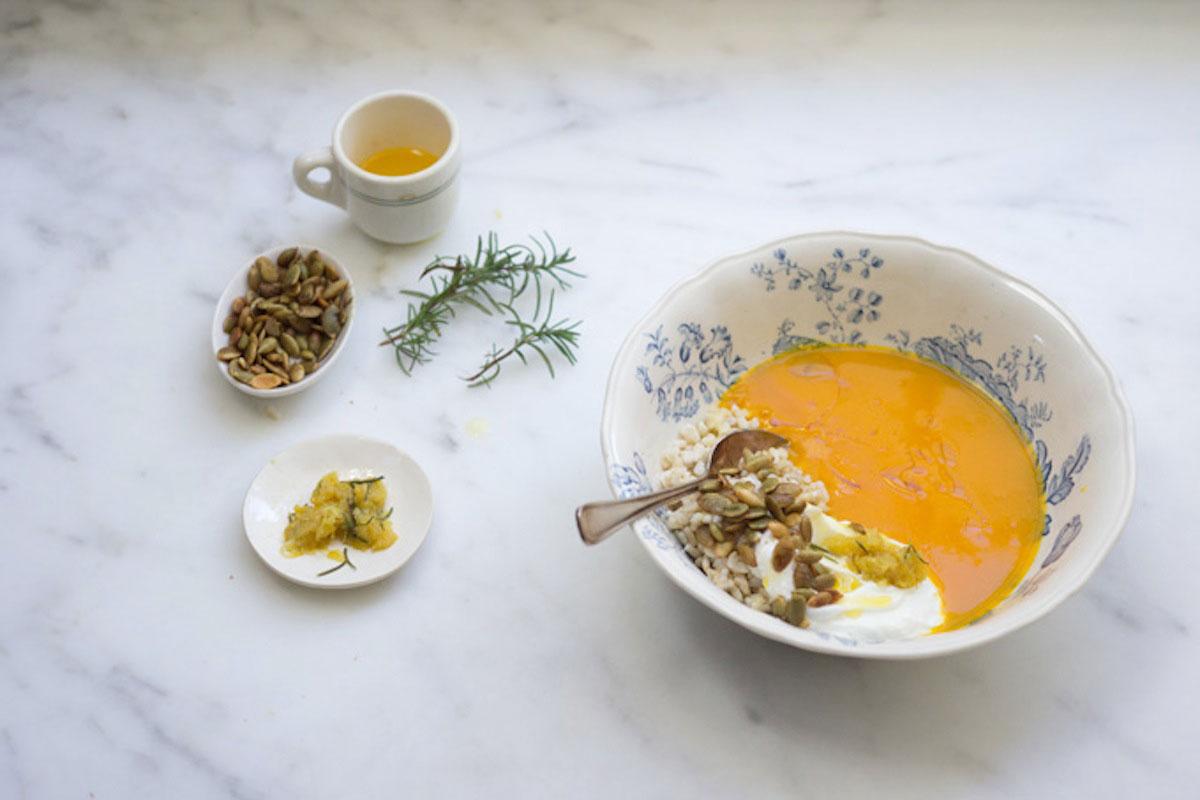 Pumpkin and Rice Soup Recipe