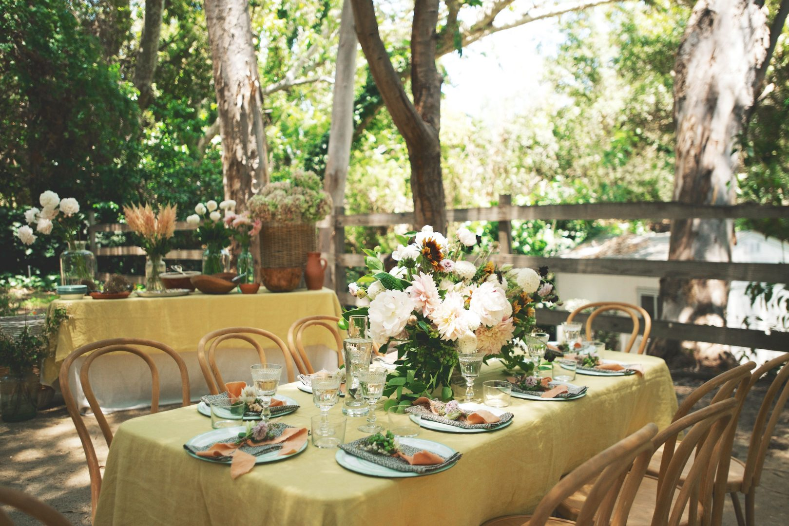 Garden Party: Decor - Entertaining - Rip & Tan