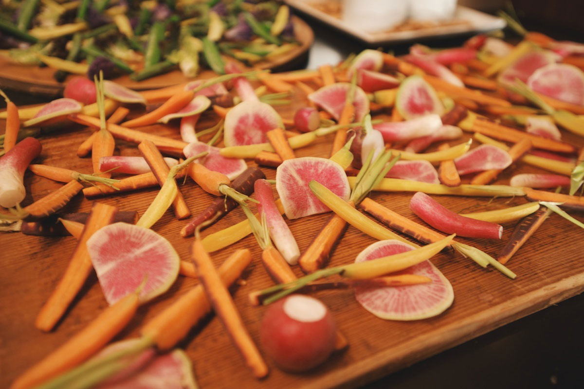Crudités with Annie Campbell 6