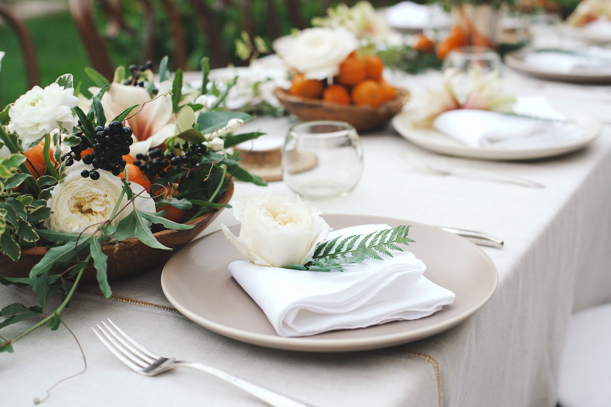 Fall Entertaining: A Citrus-Inspired Baby Shower 0