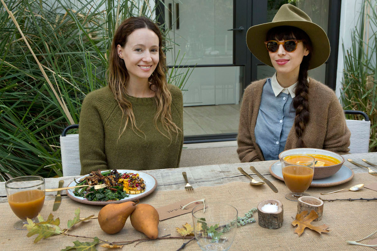 In the Veggie Kitchen: Thanksgiving - The Decor 3
