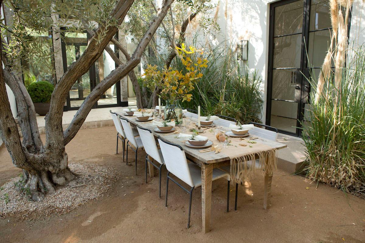 In the Veggie Kitchen: Thanksgiving - The Decor 5