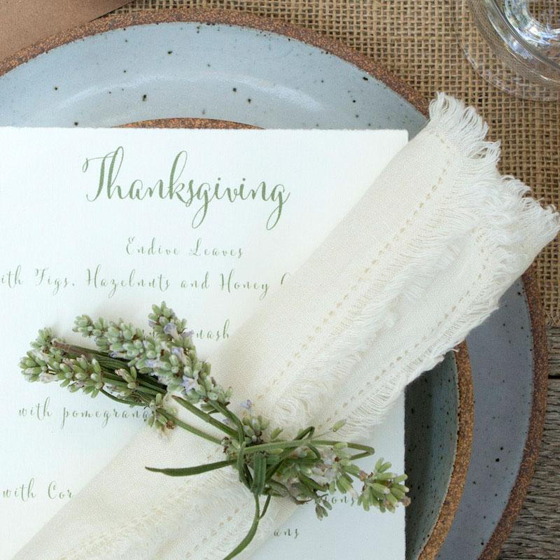 In the Veggie Kitchen: Thanksgiving - The Decor