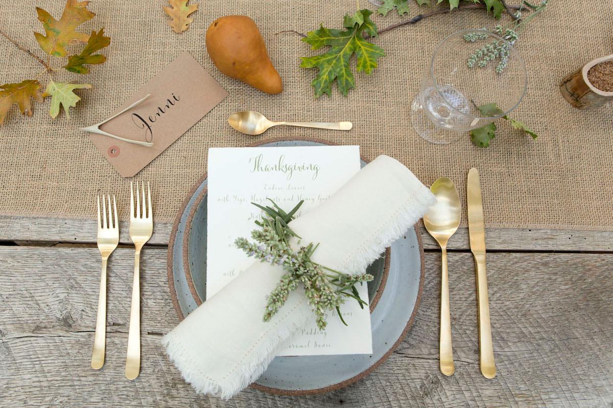 In the Veggie Kitchen: Thanksgiving - The Decor 6