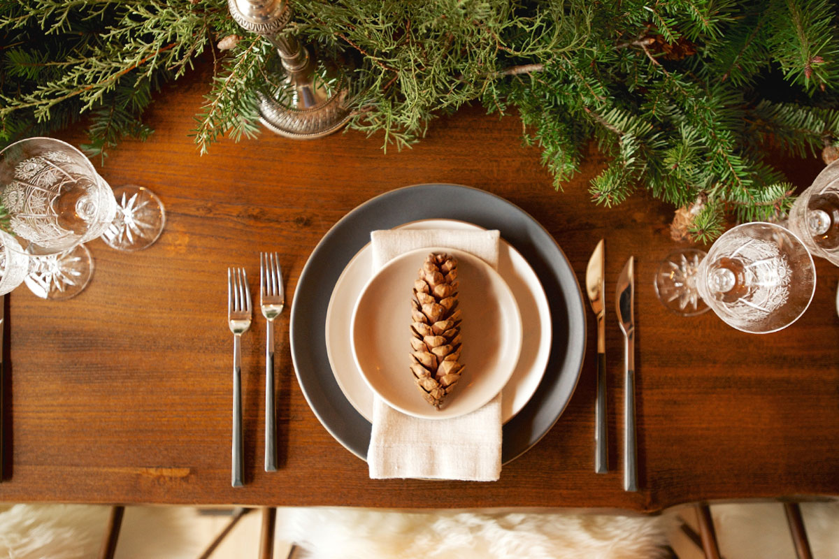 In the Veggie Kitchen: Holiday - The Decor 5