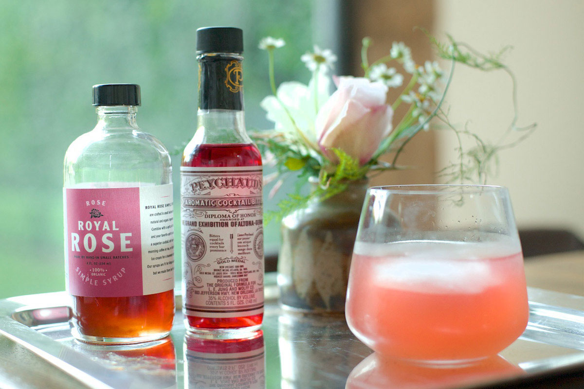 Cardamom Rose Cocktail Recipe 1