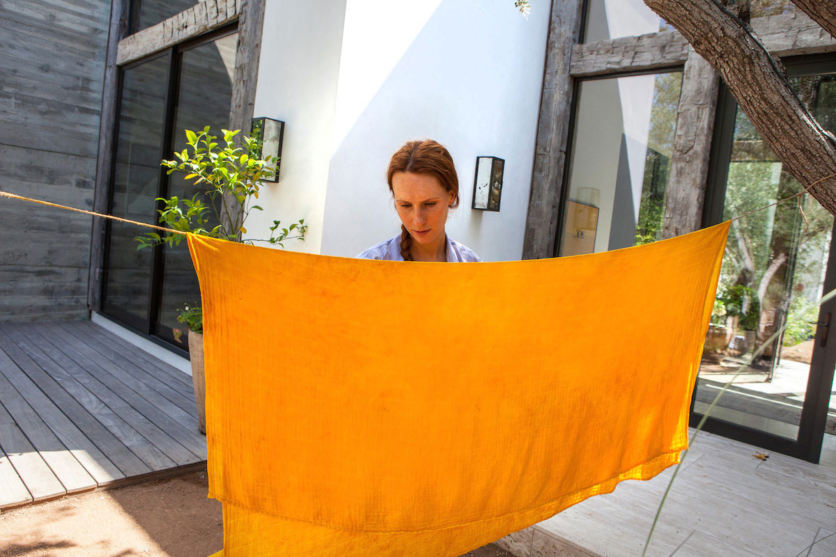 DIY: Dyeing with Turmeric 8
