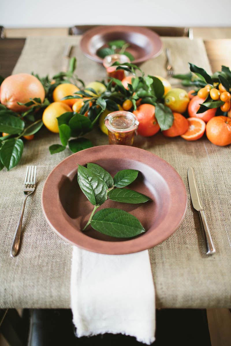 Winter Entertaining: A Citrus-Inspired Dinner