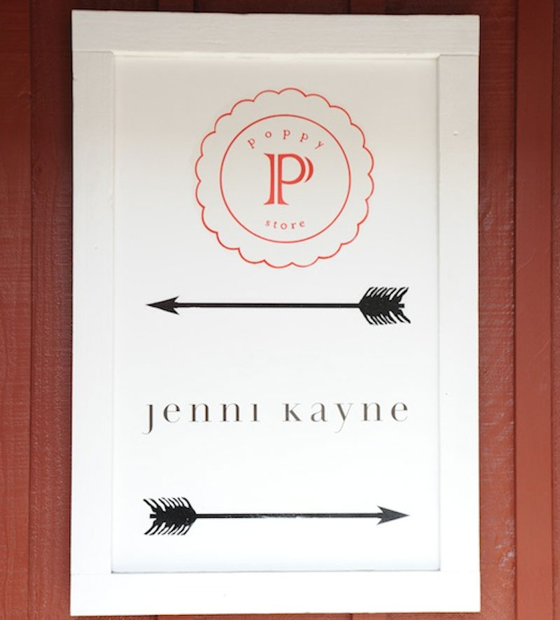 Jenni Kayne at the Brentwood Country Mart
