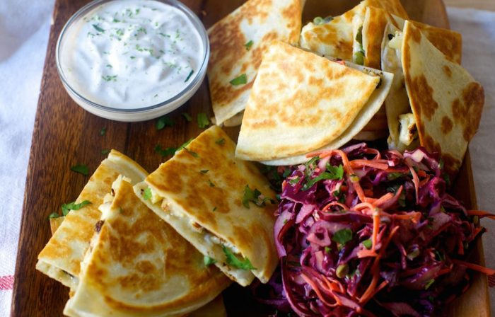 Charred Cauliflower Quesadillas Recipe