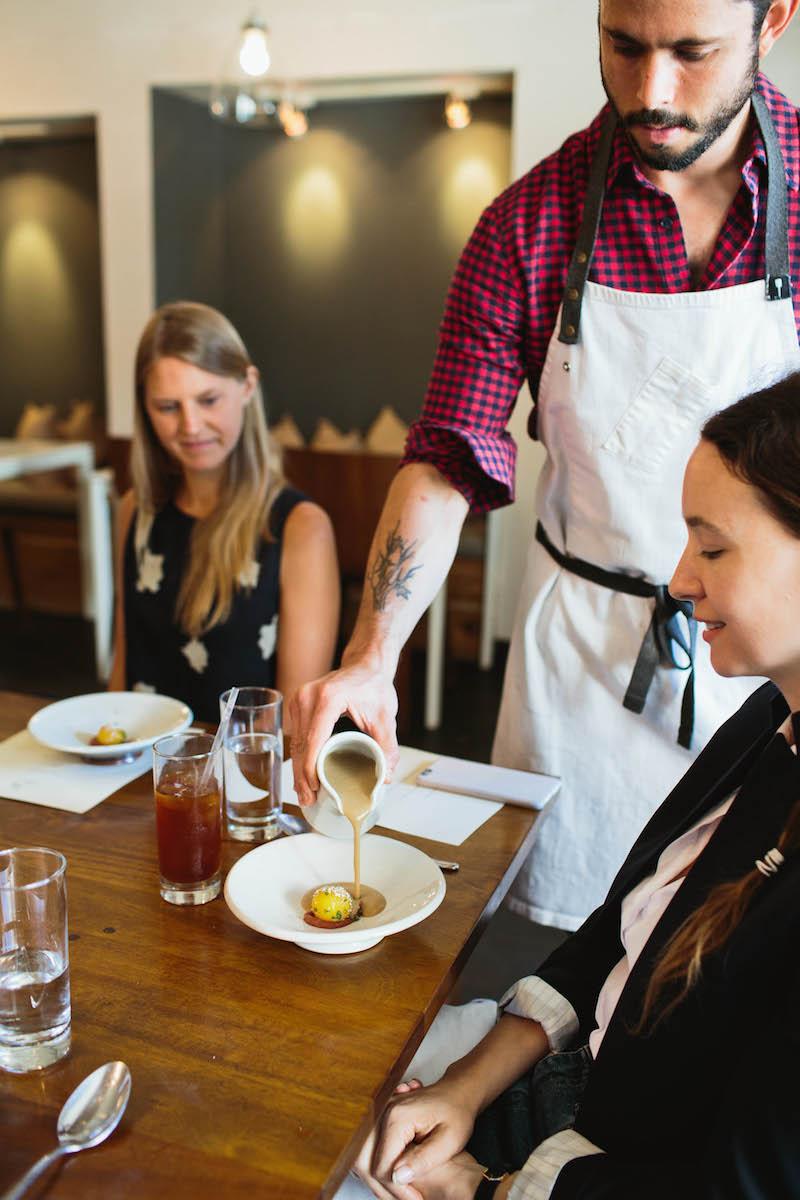 Spring Entertaining: A Vegetarian Tasting Menu at Alma
