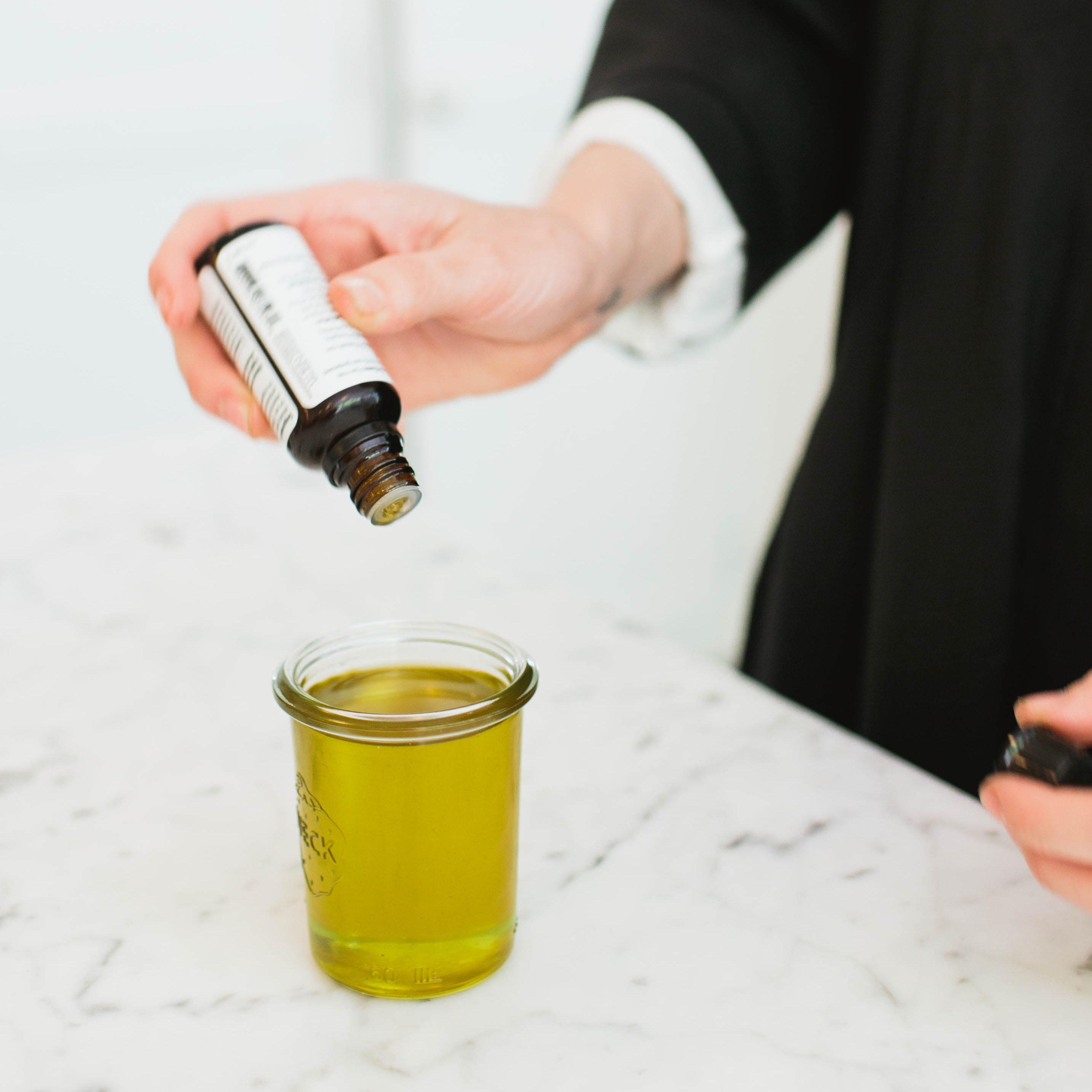 DIY: Floral Body Oil