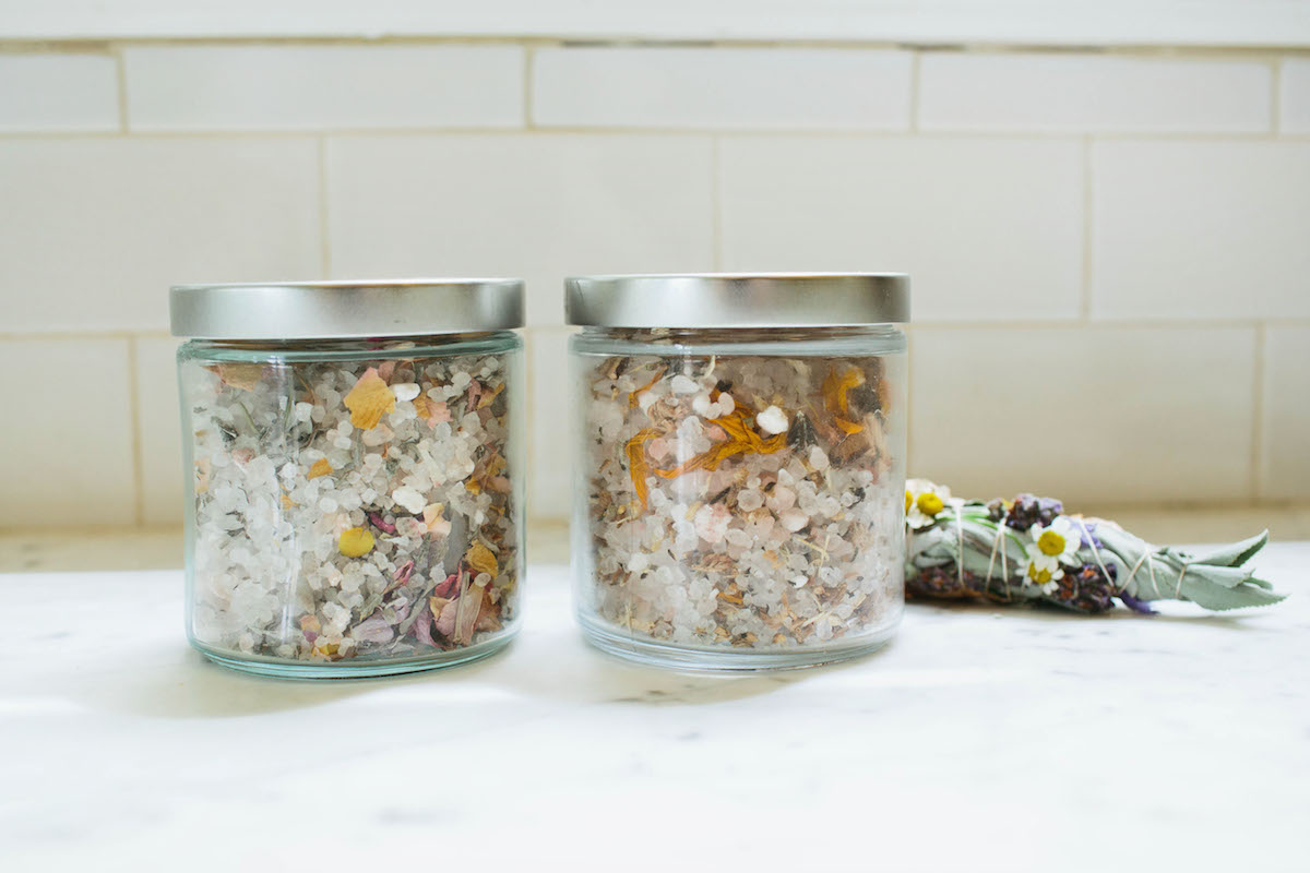 DIY: Floral Bath Salts 2