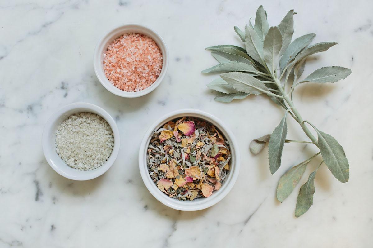 DIY: Floral Bath Salts 3
