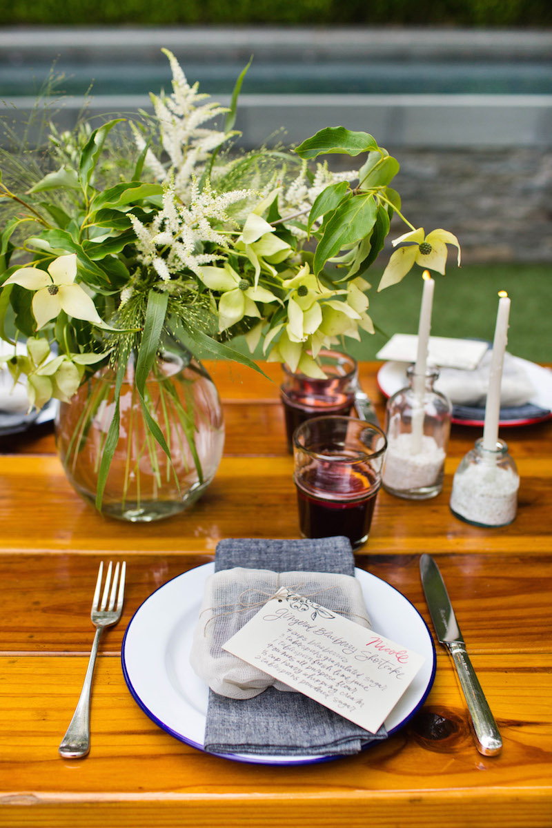 In the Organic Kitchen: Fourth of July - The Decor