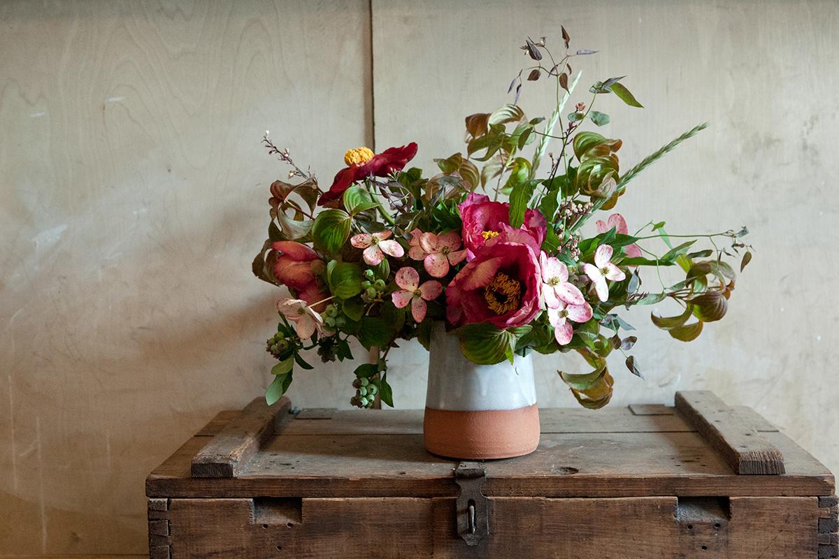 Floral Arrangements With Fox Fodder Farm A Romantic