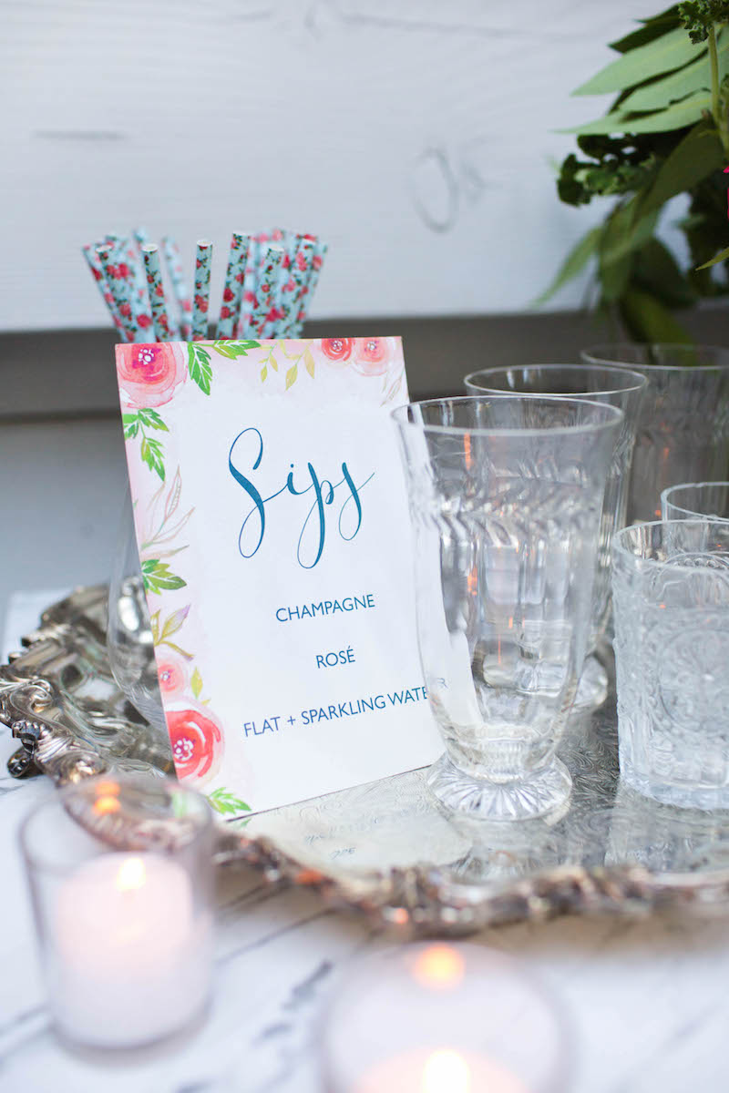 Autumn Entertaining: A Romantic Southern Bridal Shower with Annie Campbell - The Decor
