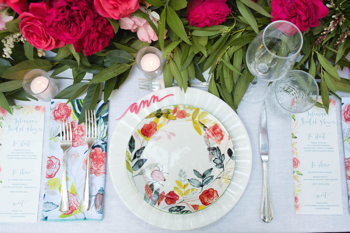 Autumn Entertaining: A Romantic Southern Bridal Shower with Annie Campbell - The Decor 3