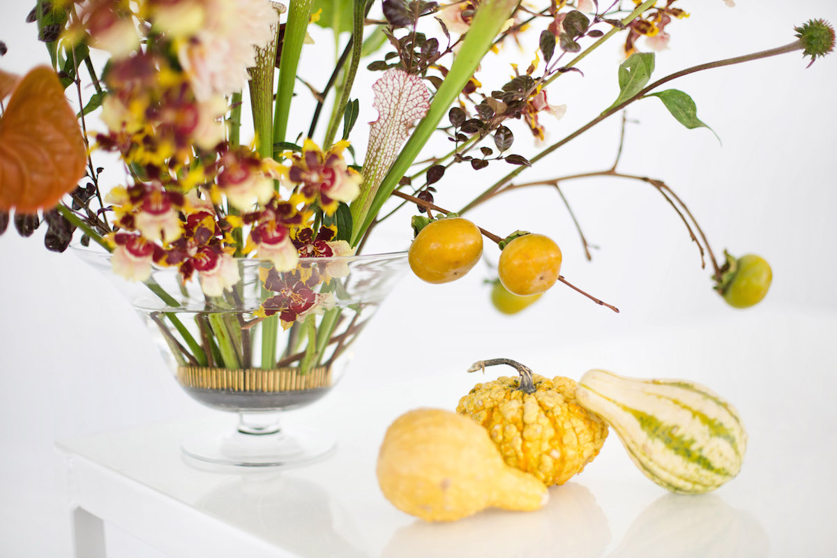 Floral Encyclopedia with Moon Canyon: An Arrangement in Autumn Hues 11