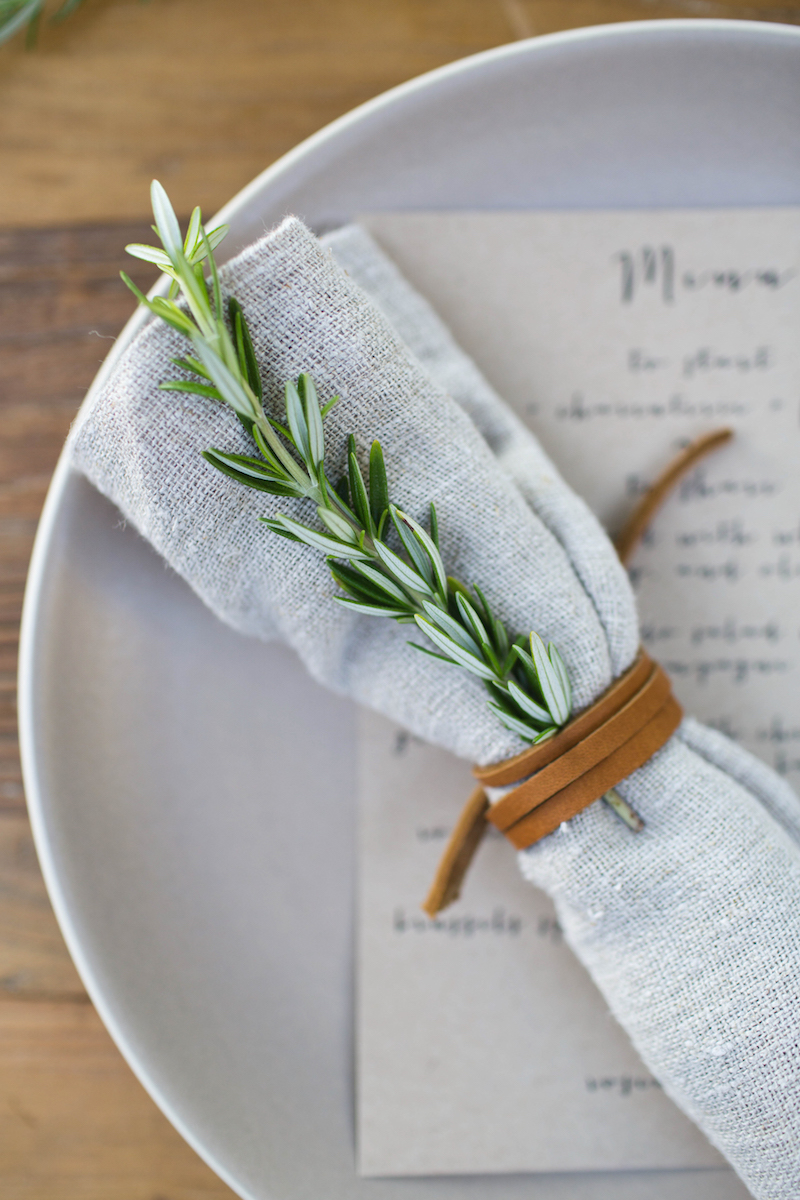 Autumn Entertaining: A Rosemary-Inspired Dinner - The Decor