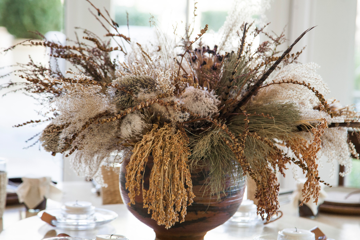 In the Veggie Kitchen: Thanksgiving - The Decor 10