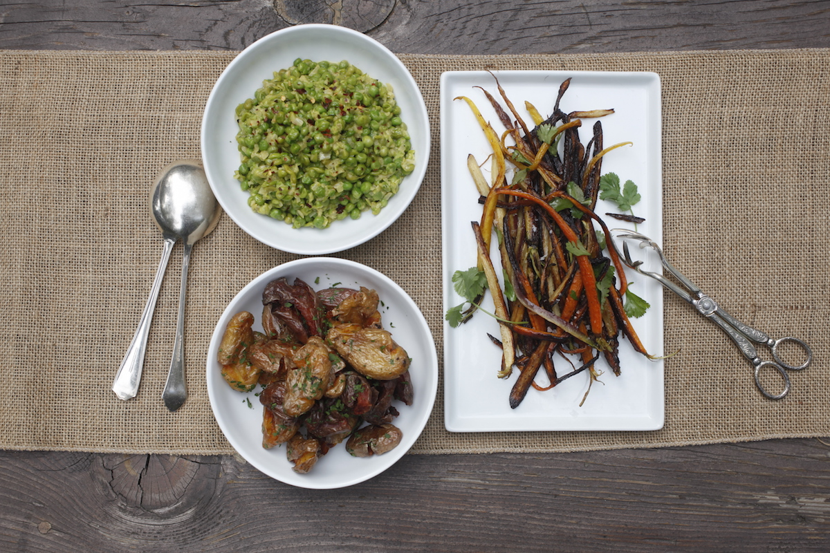 Seasonal Vegetable Side Dishes by Annie Campbell
