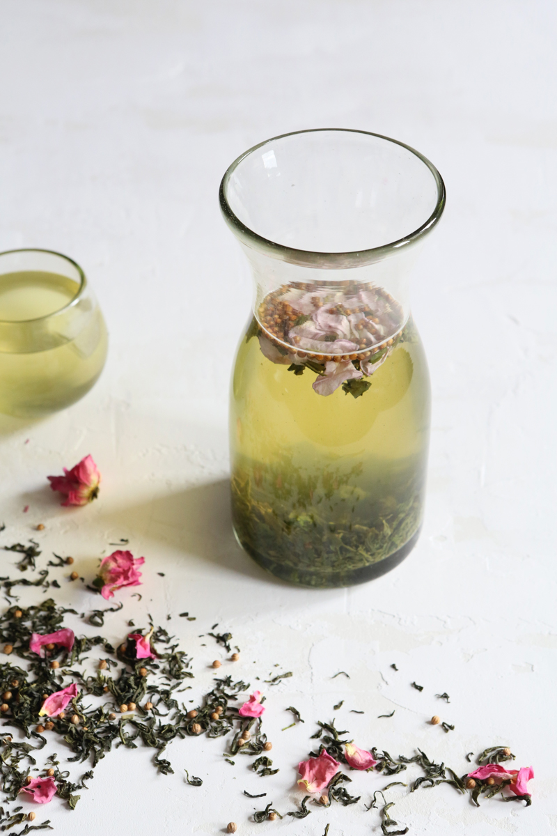 A Refreshing Recipe: Iced Rose Green Tea