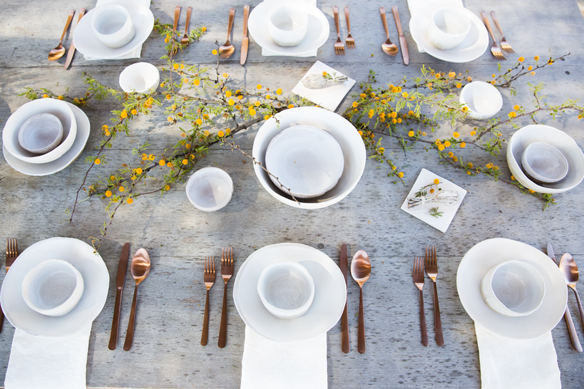 Set the Table for Spring with Materia Lumina