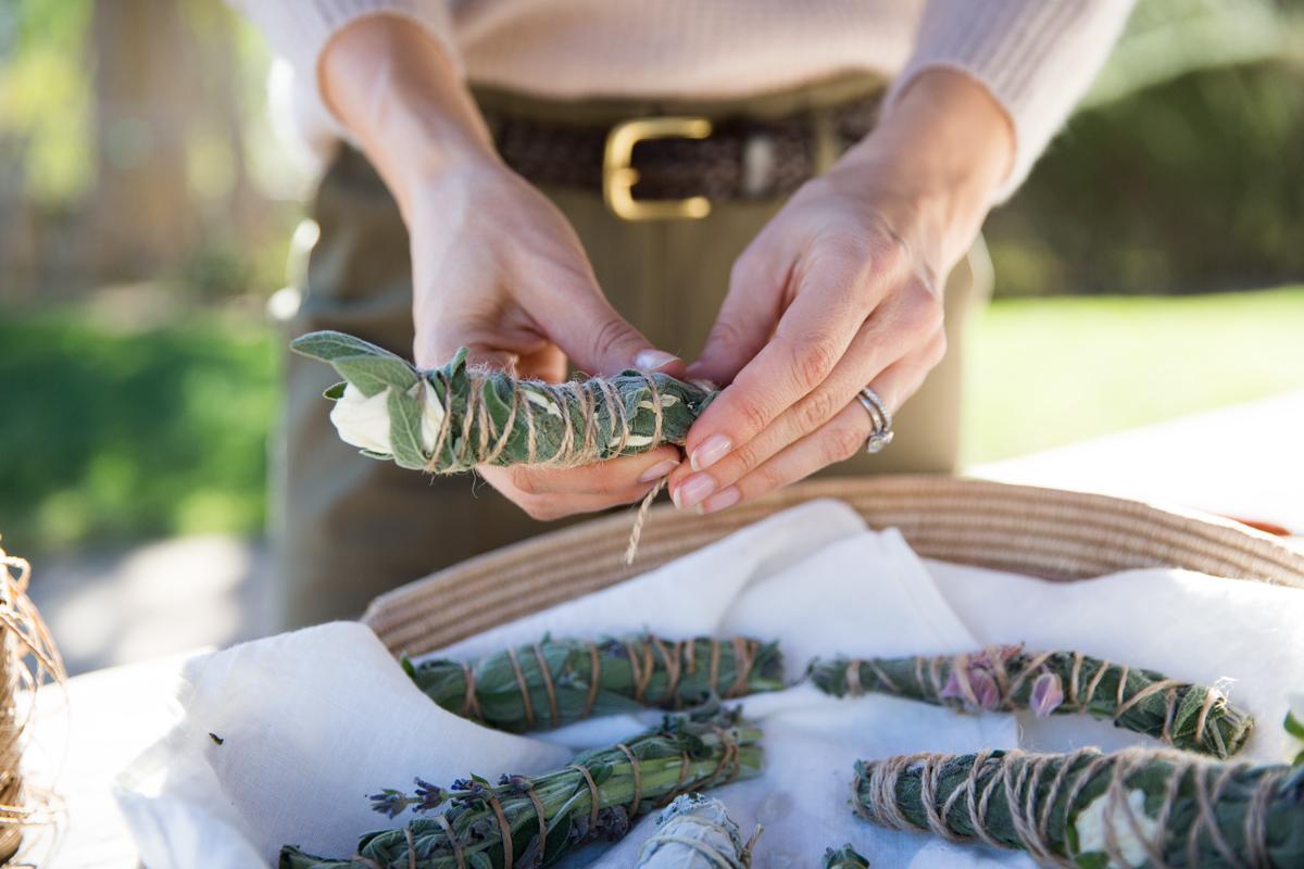 Clear the Air: A Simple Smudge Bundle DIY 2