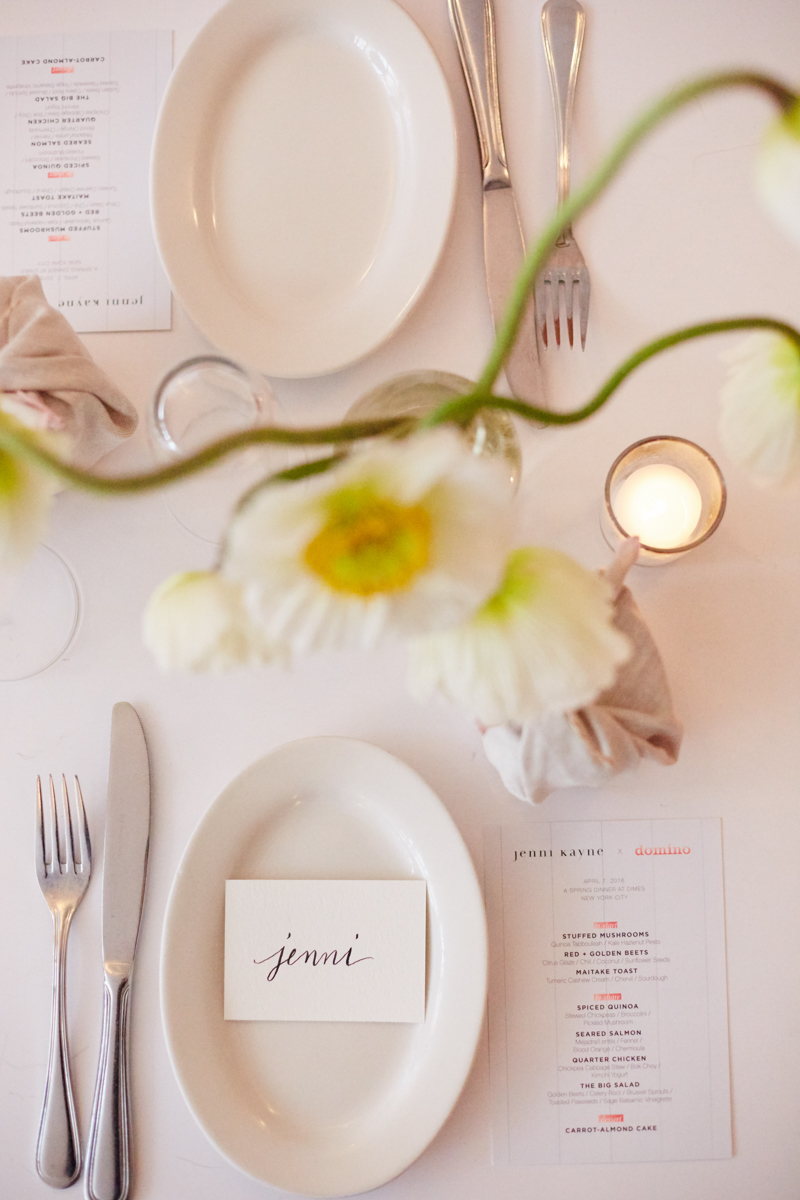 An Evening to Celebrate: A Dinner Party with Domino Magazine