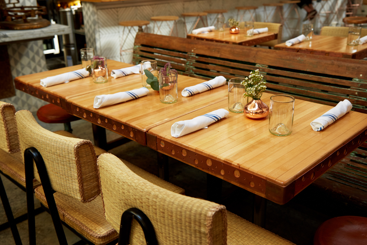 Tasting Table: A Spring Dinner at The Butcher's Daughter 12