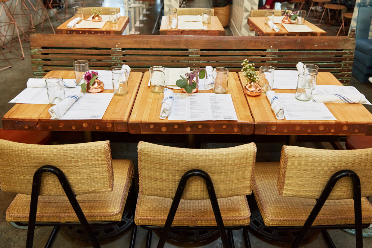 Tasting Table: A Spring Dinner at The Butcher's Daughter 14