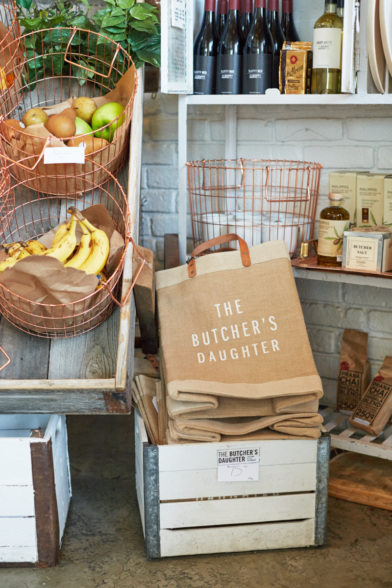 Tasting Table: A Spring Dinner at The Butcher's Daughter
