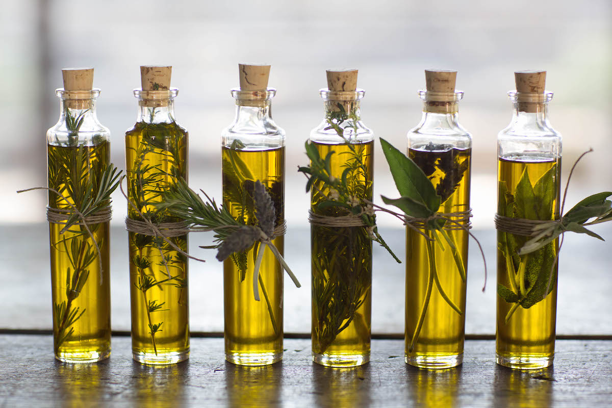 For Your Guests An Herb Infused Olive Oil Living Rip Tan