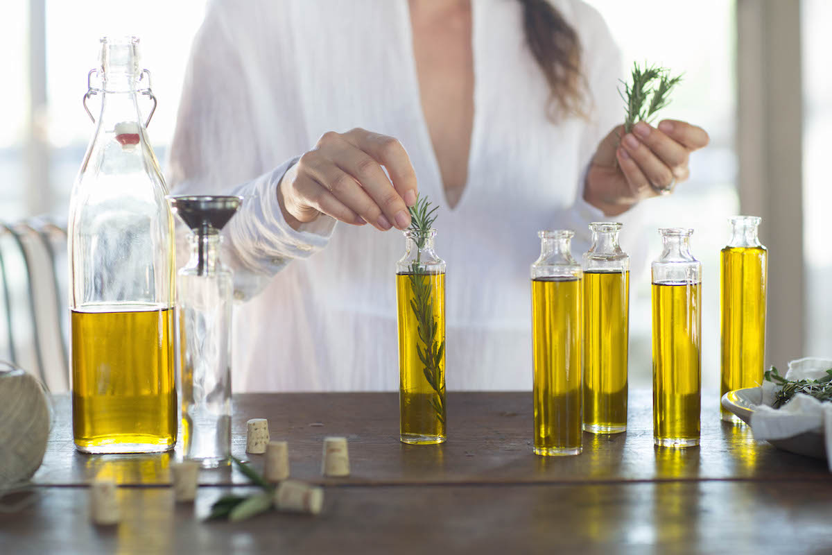 For Your Guests: An Herb-Infused Olive Oil 6
