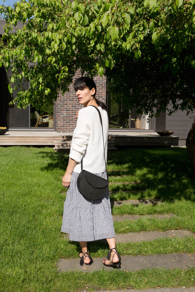 Two Fresh Takes on Gingham, Styled by Athena Calderone
