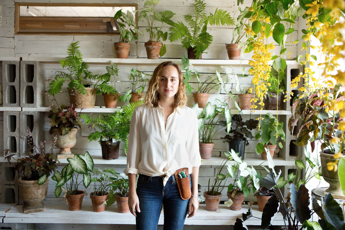 Inside the Sun-Drenched Brooklyn Studio of Peartree Flowers