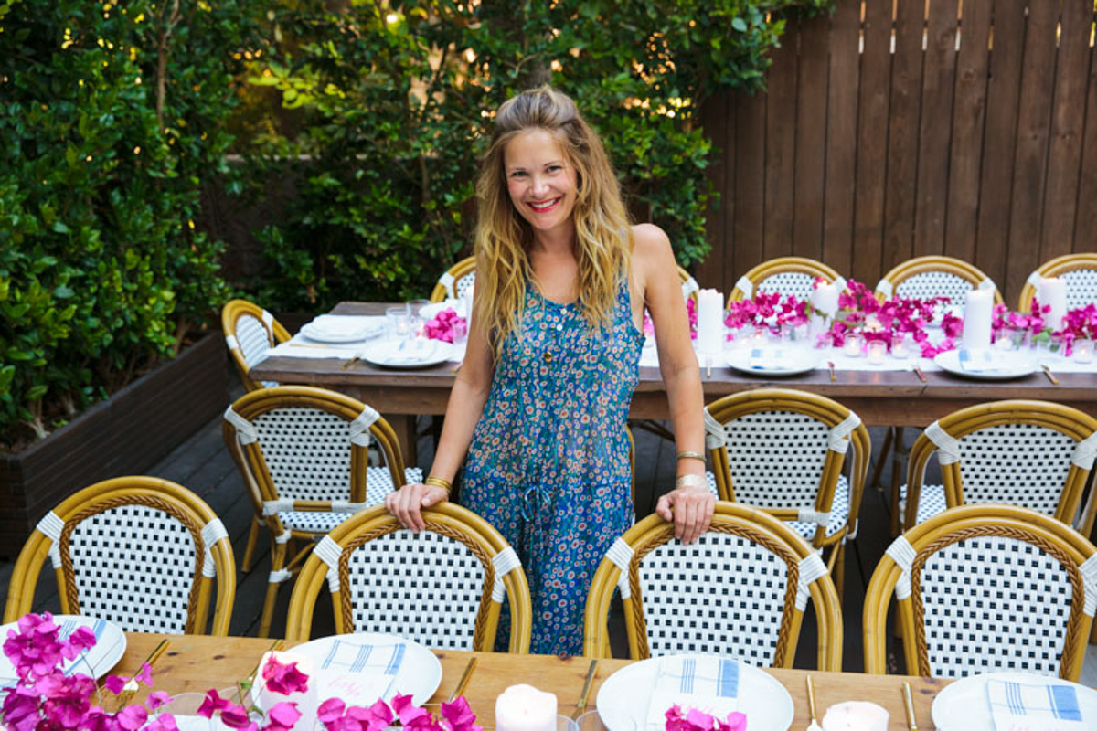 Summer Entertaining: A Casual Greek Dinner Party 0