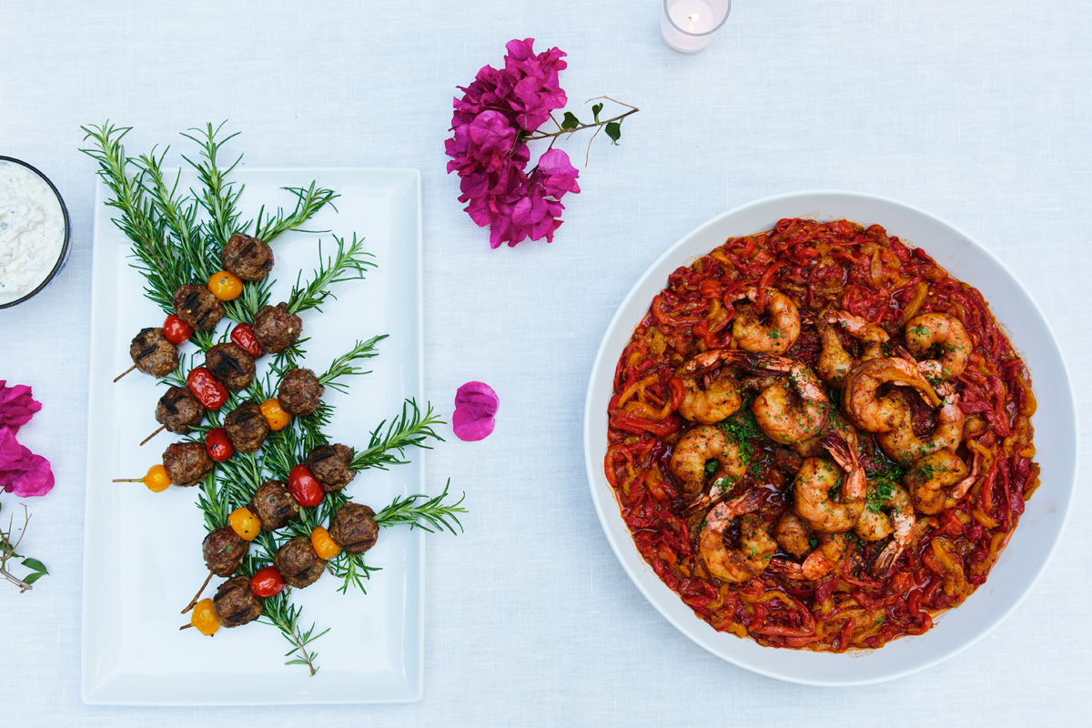A Colorful Mediterranean Menu by Annie Campbell