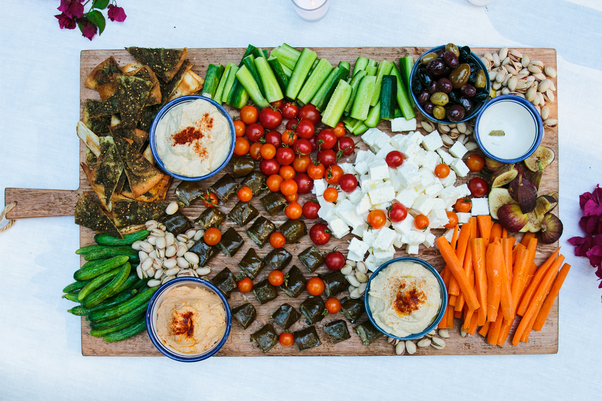 A Colorful Mediterranean Menu by Annie Campbell 11