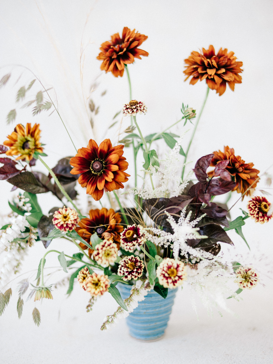 Floral Encyclopedia With Moon Canyon A Wild Fall Bouquet