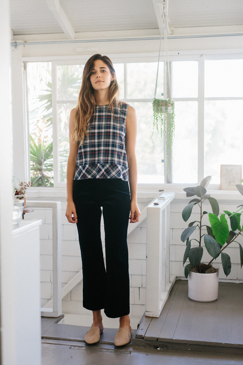 Two Timeless Takes on Plaid, Styled by Ally Walsh
