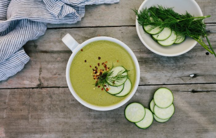 Zucchini and Leek Soup from Gwyneth Paltrow's It's All Easy