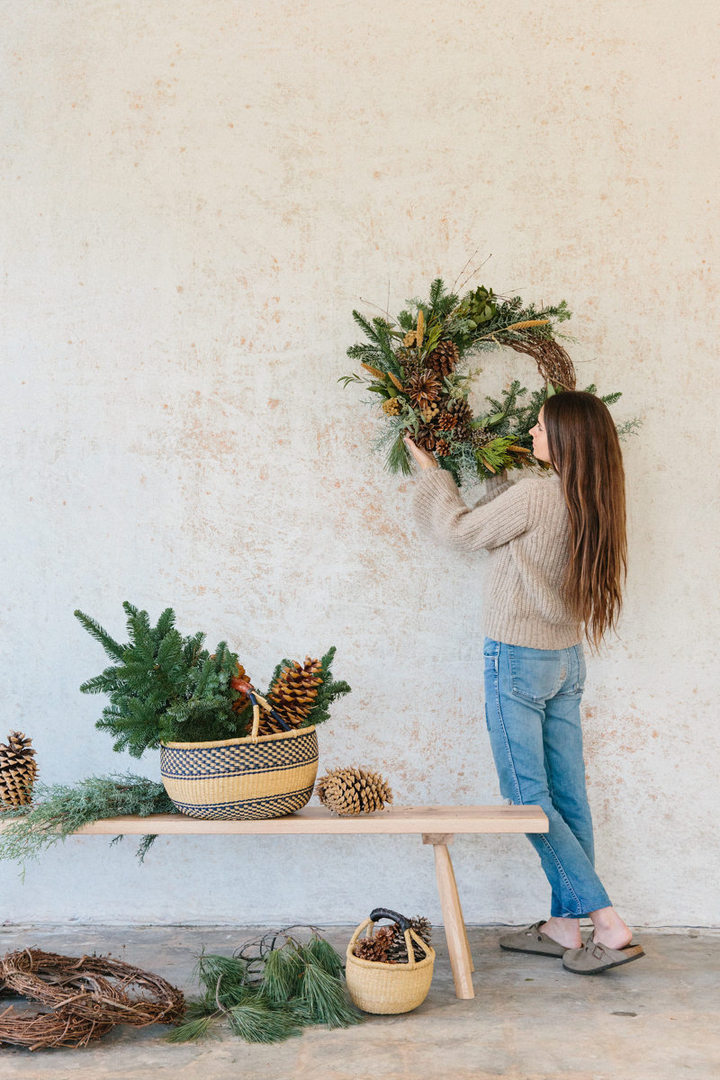 Holiday Wreaths by Moon Canyon, Now Available at Jenni Kayne