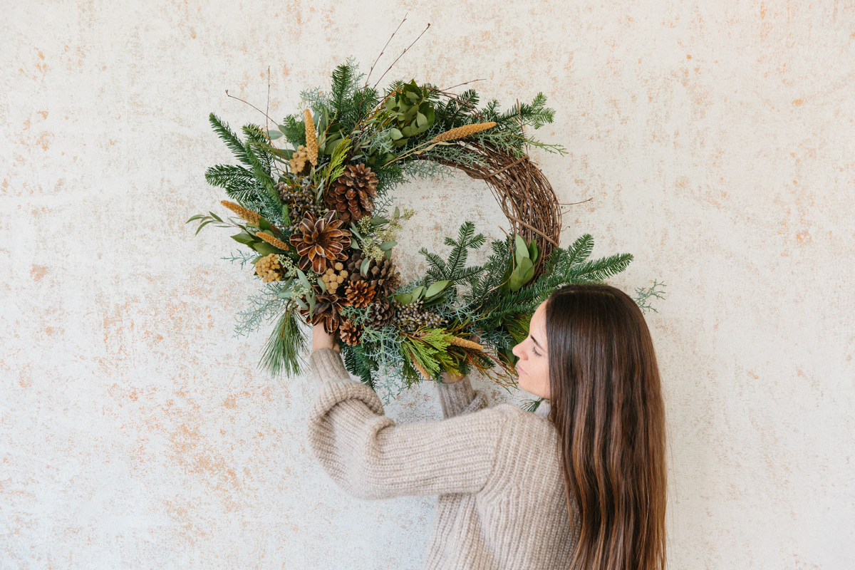 Holiday Wreaths by Moon Canyon, Now Available at Jenni Kayne 8