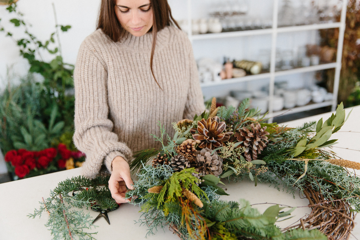 Holiday Wreaths by Moon Canyon, Now Available at Jenni Kayne 0