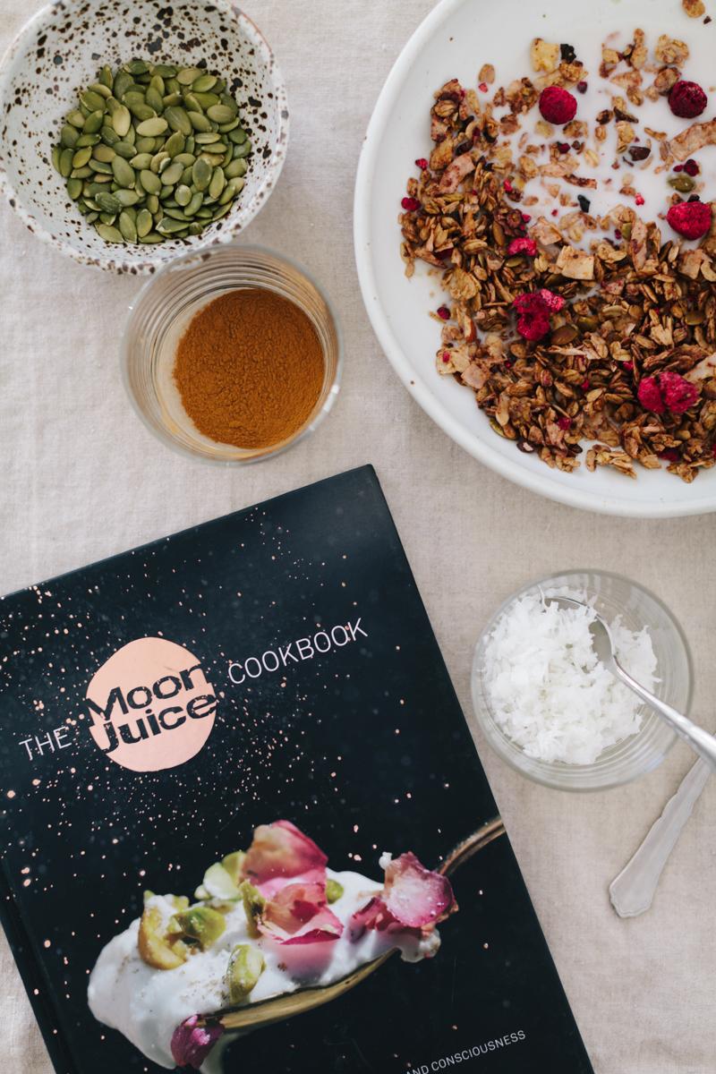 A Muesli Recipe from The Moon Juice Cookbook
