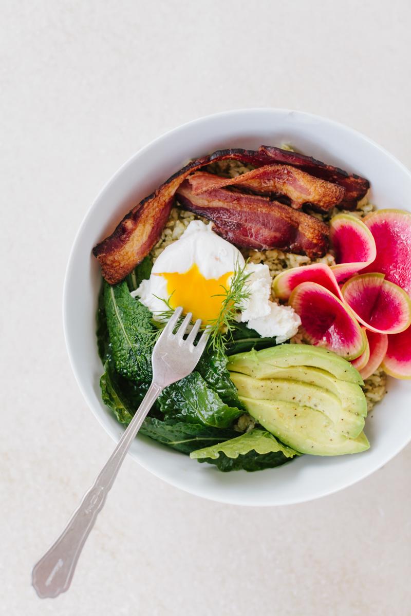 Sqirl's Sorrel Pesto Rice Bowl Recipe