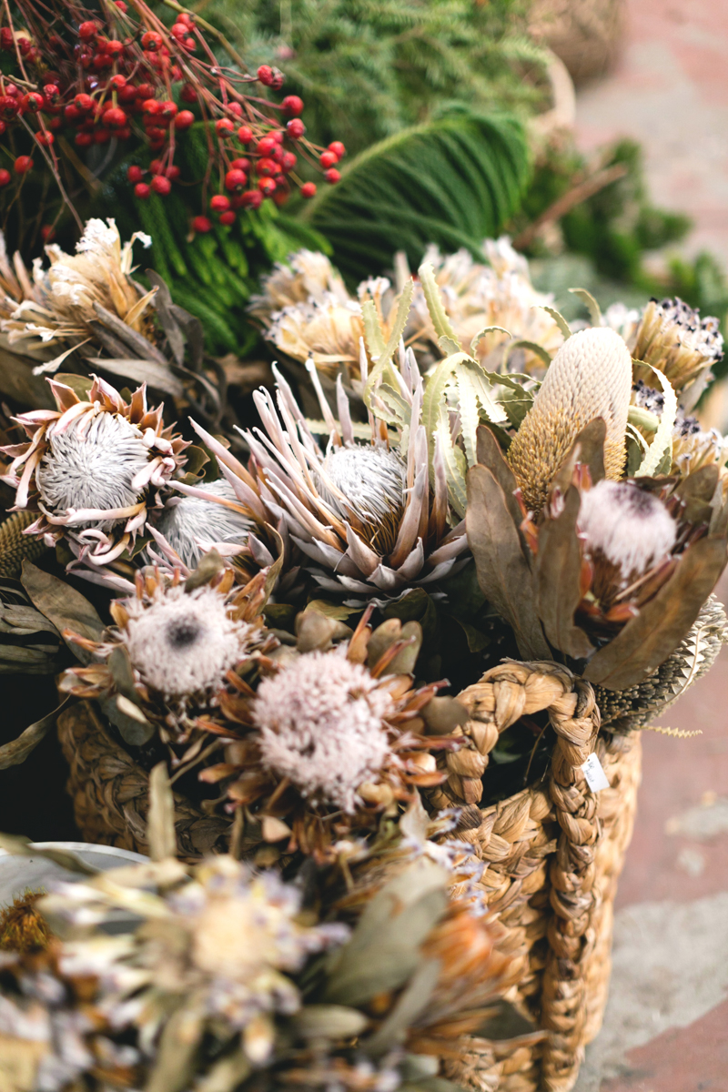 A Wreath-Making Workshop with Heather Taylor and Hollyflora