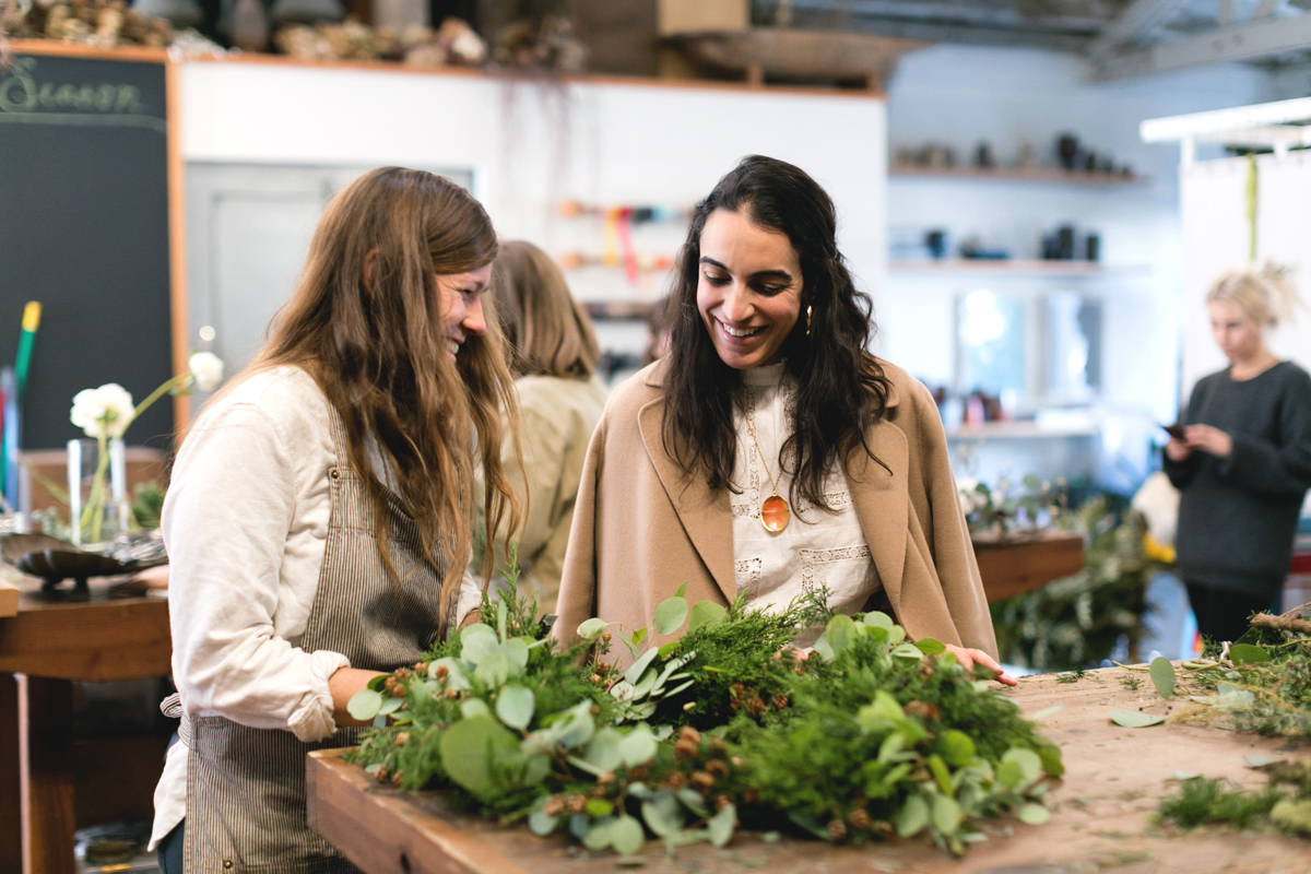 A Wreath-Making Workshop with Heather Taylor and Hollyflora 3